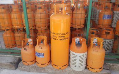 Vrste plinskih boca i njihova namjena